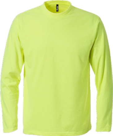 Fristads Acode Long Sleeve Core T-Shirt 1914 HSJ (Bright Yellow)